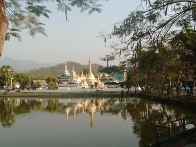 Mae Hong Son, Thailand, Nähe Burma